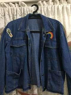 Crop Jacket Denim
