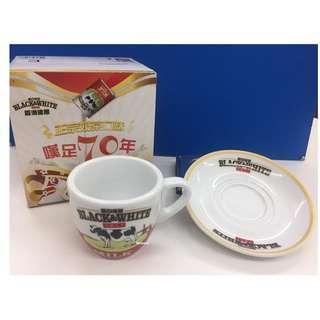 黑白淡奶70周年套裝杯(連盒)