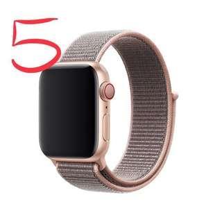 🚚 Apple Watch 原廠42或44公釐 粉沙色運動型錶環