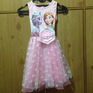 Dress Anak frozen