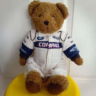 BMW Williams F1 Team Teddy Bear