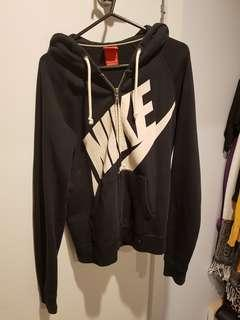 Nike Black Zip Up Hoodie