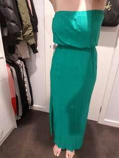 Green Portman's Maxi Dress