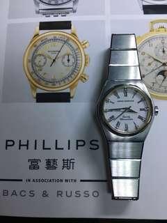 芝栢 GP GIRARD-PERREGAUX全正常  18K真鑽石 女裝ROLEX 古董錶 精工