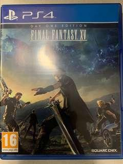 PS4 Final Fantasy XV First Day Edition