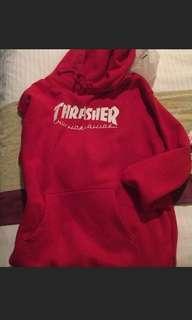 🚚 Thrasher X. HUF聯名帽T