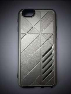 iPhone 6 6s Plus Case Protective TPU + PC Silver
