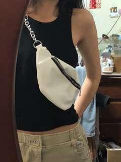 🚚 全新✨VII&CO白色腰包