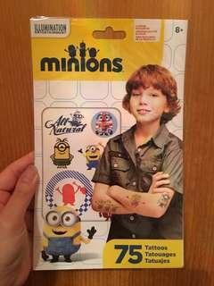 Minions 紋身貼紙