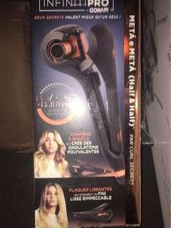 Conair infinitipro Half and Half Curl secret
