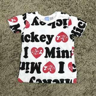 Mickey minie mouse tshirt