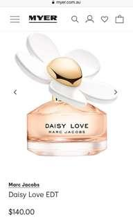 new Daisy Love 100ml perfume