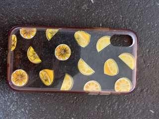Lemon iPhone X / xs case