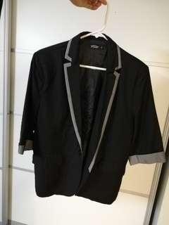 Casual blazer short sleeve