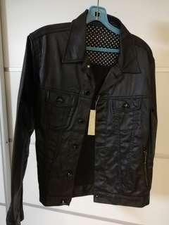 Black jacket punk/rock style