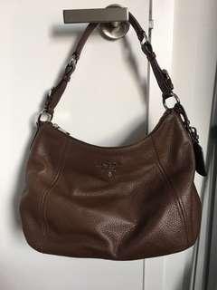 Prada Vitello Phenix Sacca Bag Authentic