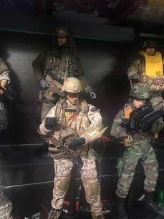 """Clearance 12"""" 1/6 Military figures ) Auction"""