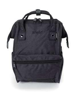 Authentic Anello heat-regulation polyester mouthpiece backpack - Black