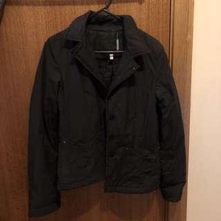 Vintage Armani Jean black winter jacket