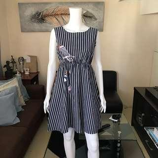Stripes dress S