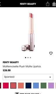 Fenty beauty spanked lipstick