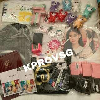 TWICE DOME TOUR MERCHANDISE ORDER