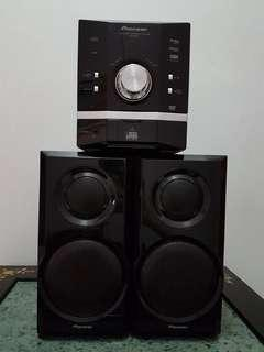 Pioneer Speaker house system