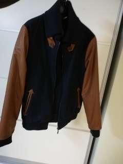 Korean: varsity style jacket