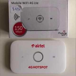 MOBILE WIFI 4G LTE 華為無線路由器隨行