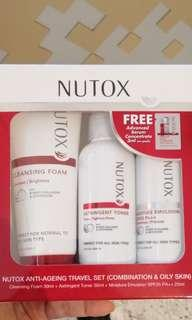 New Nutox Cleanser, Toner, Emulsion, Serum