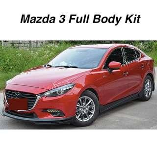 [HOT ITEM] Mazda 3 Full Body Kit