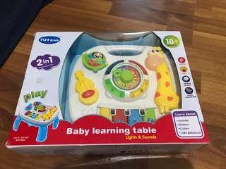 Baby learning table ( mainan baby )