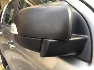 Ford ranger black side mirror cover free shipping
