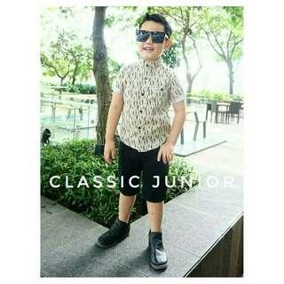 Kemeja Clasic Junior