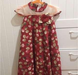 Dress anak Donita size 5-7 tahun