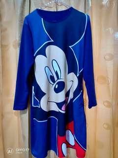Tunik Mickey printing
