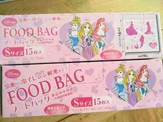 🚚 日本Disney迪士尼食物保鮮袋夾鏈袋 解凍冷凍袋 廚房鮮食保存袋