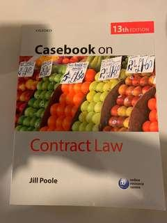 [UOL LLB適用] Oxford Case Book on Contract Law 13th Edition