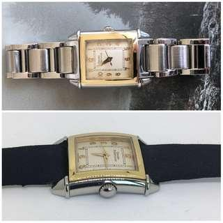 Girard Perregaux 18K Solid Gold & Steel Ladies watch