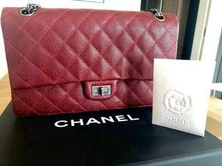 🚚 Preloved Chanel Classic Flap 226 Reissue in caviar -full set with receipt