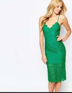 Bardot Formal dress green