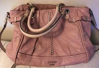 GUESS ABBEY RAY LARGE SATCHEL
