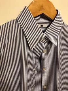 WORN ONCE Women's stripy dress shirt