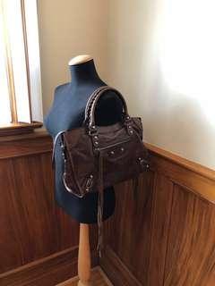 Balenciaga bag. Real chevre leather