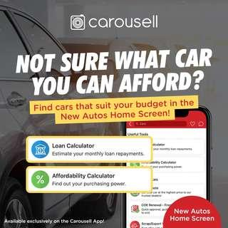 Loan & Affordability Calculators - Find cars that suit your budget