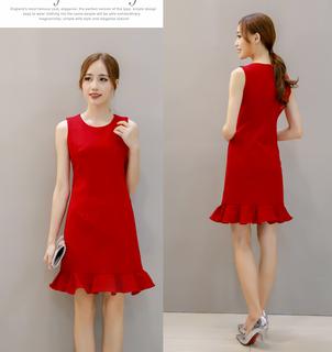 (S - 2XL) Ladies Dress #-1667