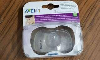 Philip Avent 乳頭保護器 乳頭盾一對