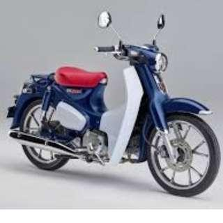 Honda 125 cub D/P $500 or $0 With out insurance (Terms and conditions apply. Pls call 67468582 De Xing Motor Pte Ltd Blk 3006 Ubi Road 1 #01-356 S 408700.
