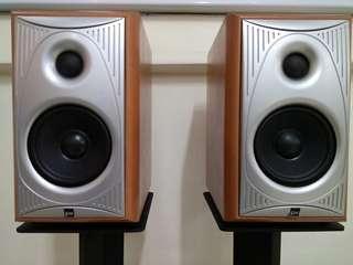 JPW British Audiophile HiFi Stereo Bookshelf Speakers