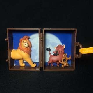 Takara Tomy A.R.T.S. Disney Lion King scene luggage